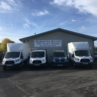 Sheffield Van Hire Vans for Hire range of vans